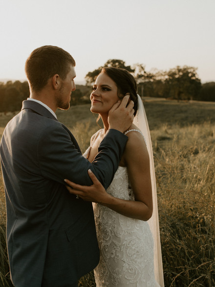 Spring wedding in WNC for two high school sweethearts - Tryon, NC