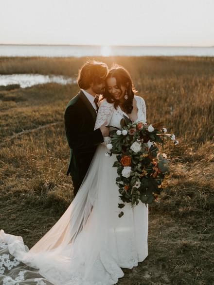 Brody and Merriah | Winter wedding in Charleston, SC