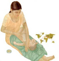 Massatge infantil Shantala