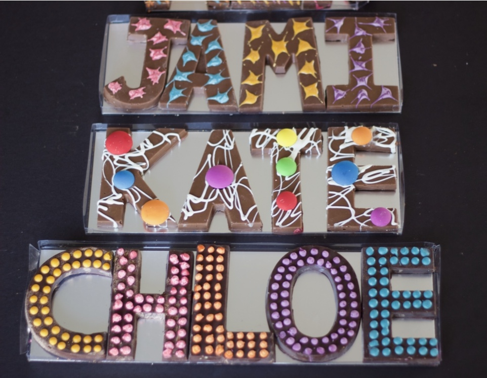 Chocolate Names