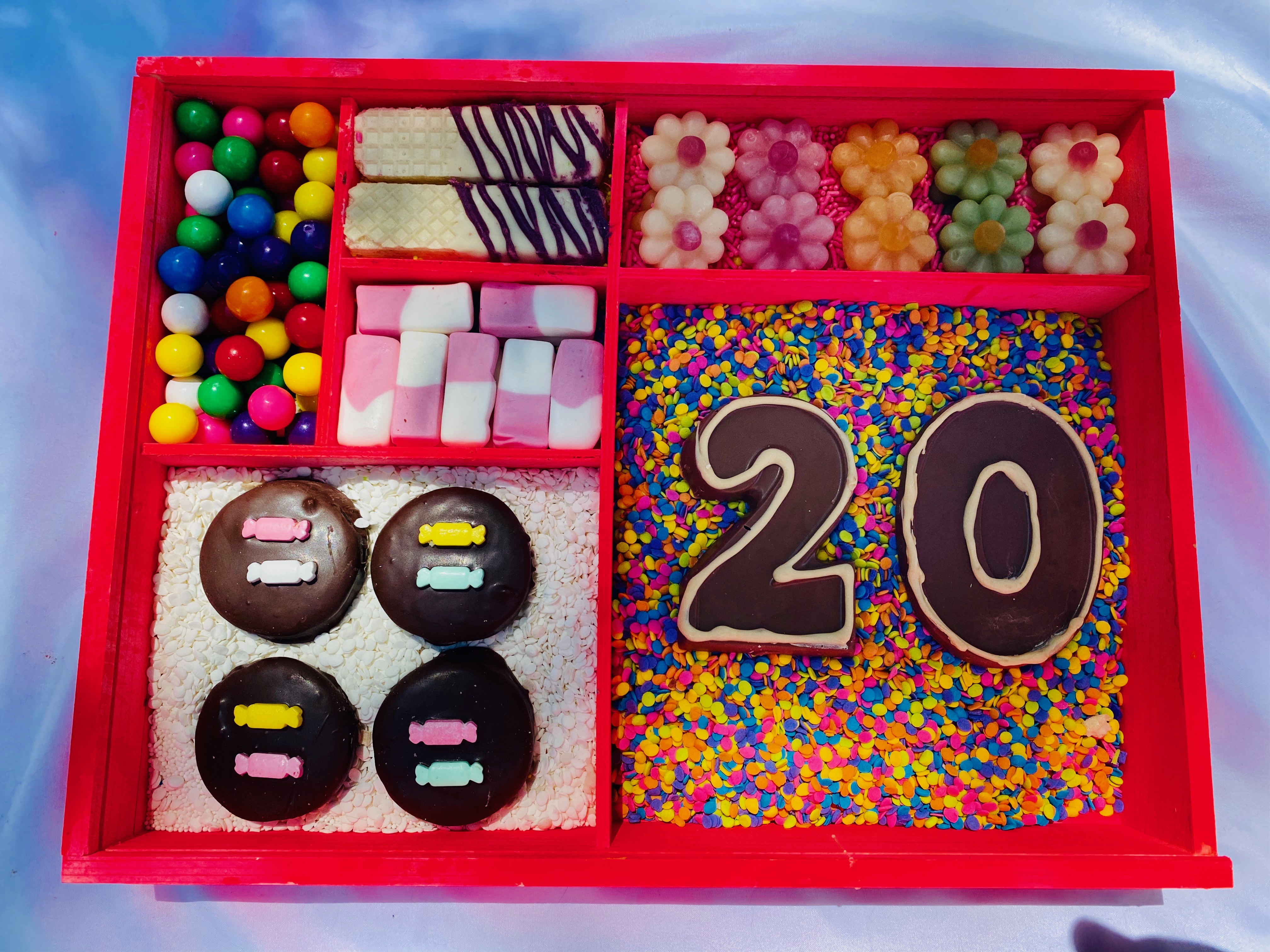 Birthday Candy Box