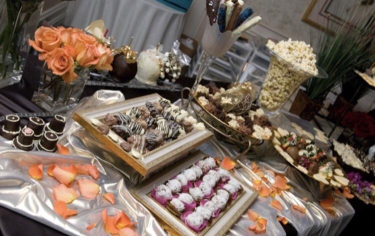 Wedding Chocolate Table