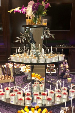 Cheesecake Display