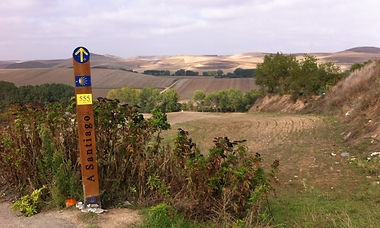 St Jacques de Compostelle à 555 km