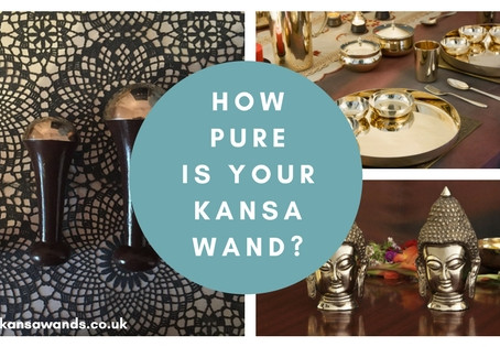 Do you know how Pure your Kansa Wellness Wand is?