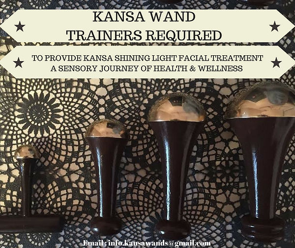 Kansa wand UK Trainers required