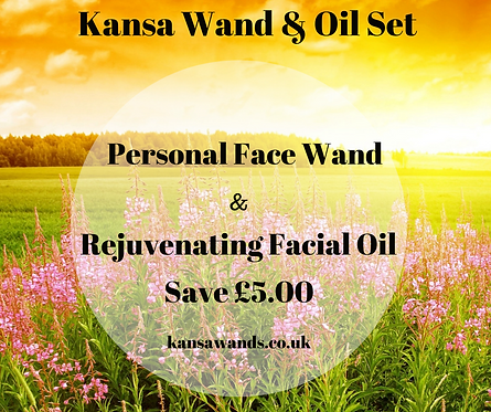 Personal Wand & Facial Oil Offer
