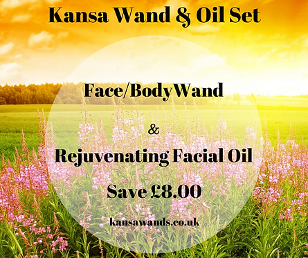 Body Wand  & Oil offer