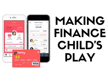 Making Finance Child's Play