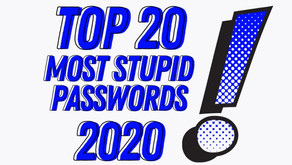 Top 20 Most Stupid Passwords of 2020