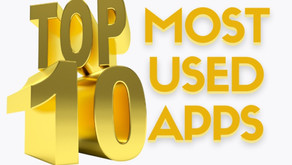 My Top 10 Most Used Apps
