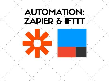 IFTTT and Zapier