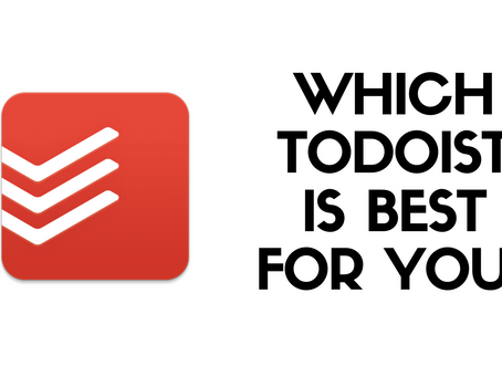 Which Todoist Is Best For You?