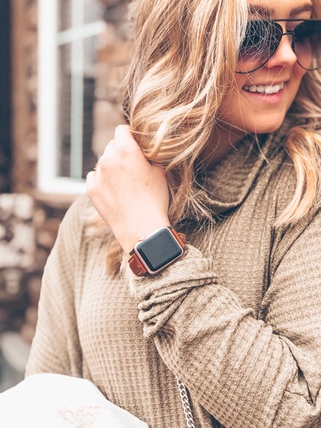 JORD Leather Apple Band Review + Giveaway