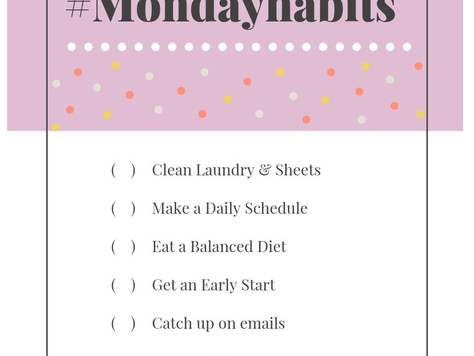 Monday Habits