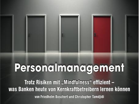 Kreditwesen Artikel: Trotz Risiken mit Mindfulness effizient