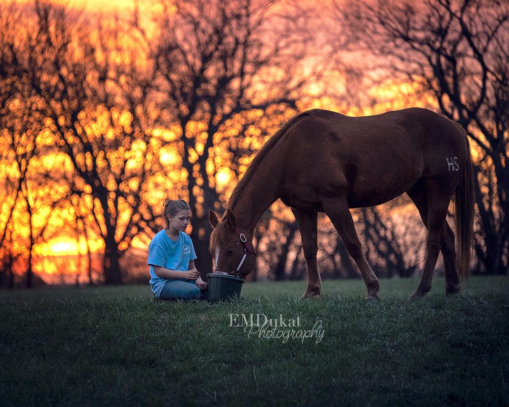 horse-girl-sunset-gretna-nebraska-equine-photographer