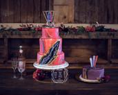 cake by The Omaha Bakery Ackerhurst Dairy Farm in Bennington, Nebraska