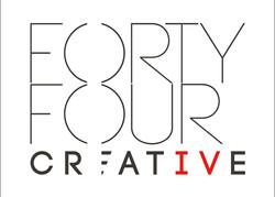 Fourty Four Creative web logo - 960px x