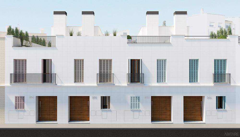 Fassade Calle Moragues