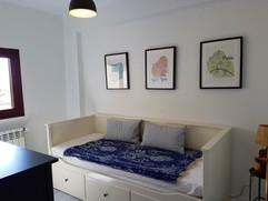 Bedroom mit ausziehbarem Doppelbett