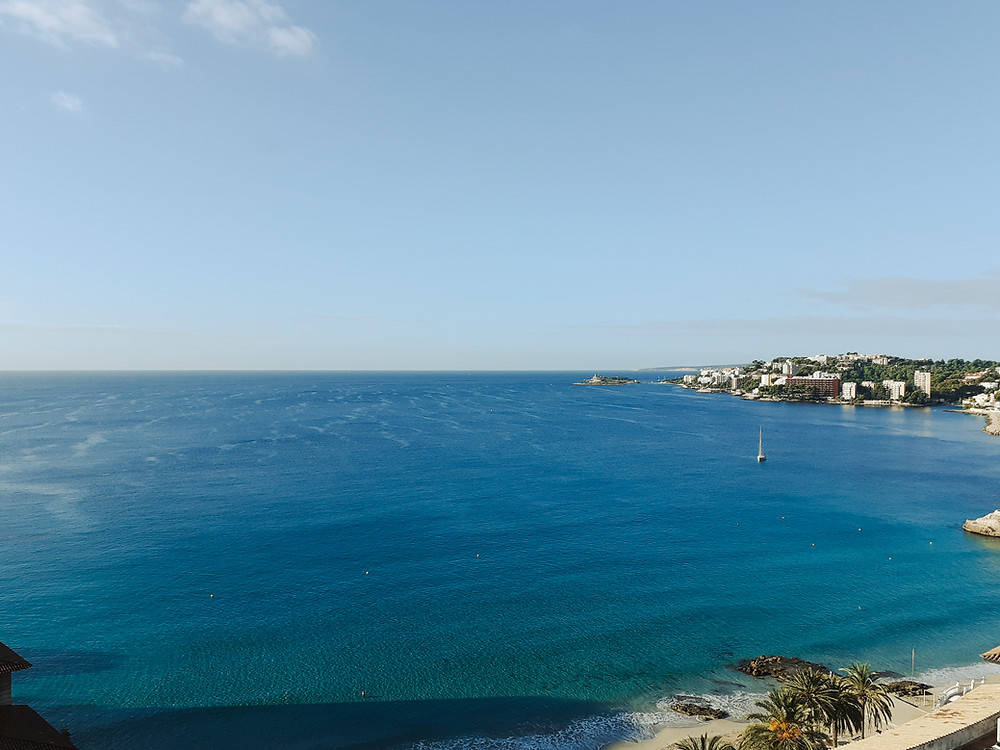 Breathtaking views from our Penthouse in Cala Major