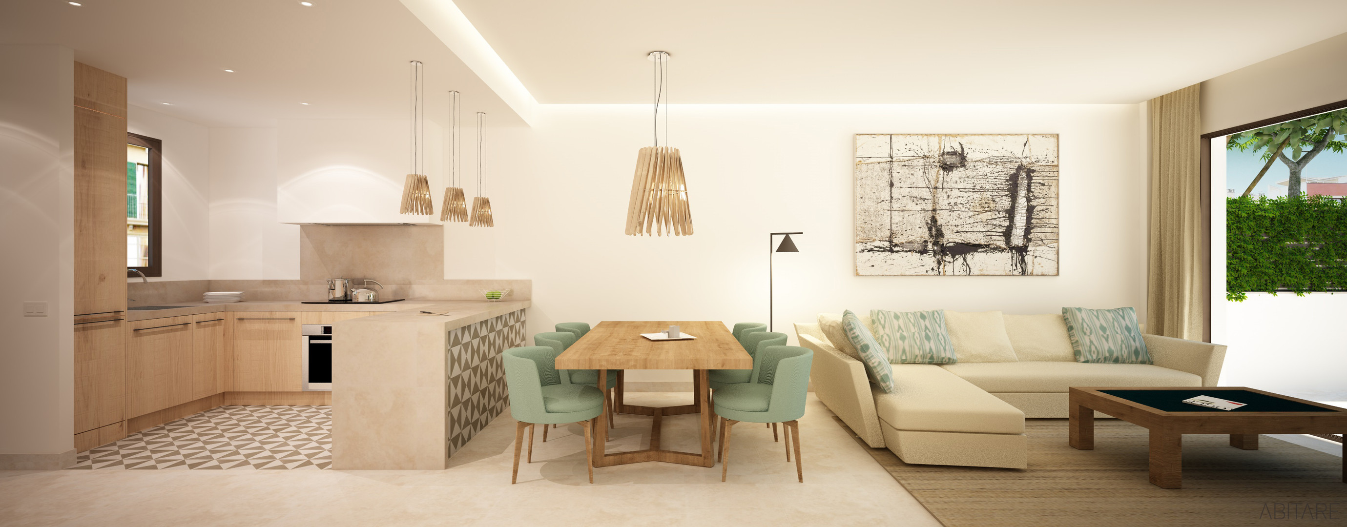 Molinar Townhouse - Living