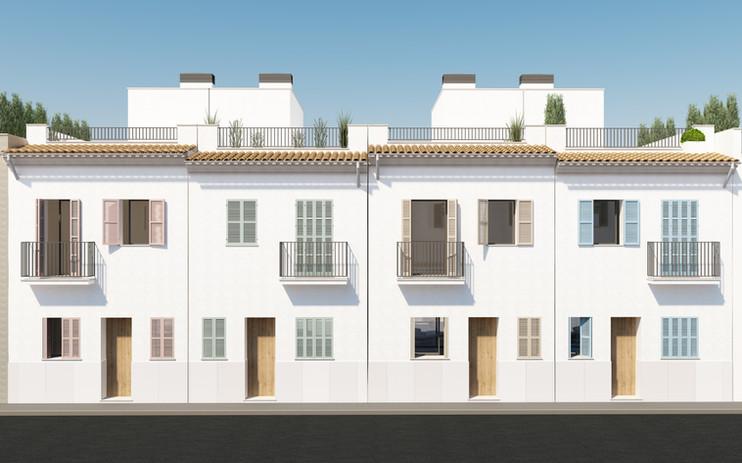 Molinar Townhouses - Fassades