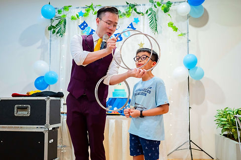 Kids Party Magician Singapore