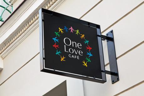 One Love Cafe Company Branding