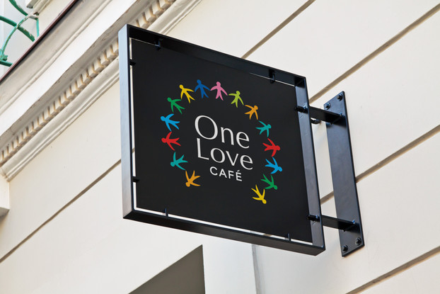 One Love Cafe Company Branding