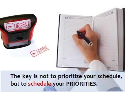 Plane feste Lernphasen ein.