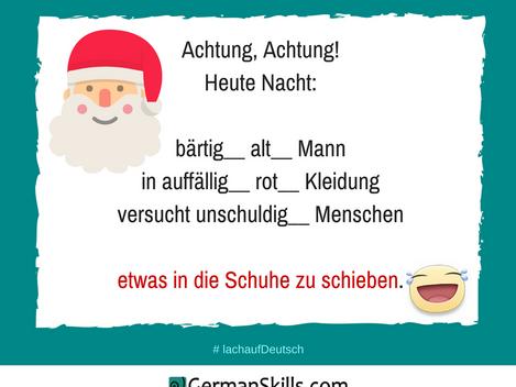 Ich bin der Nikolaus!