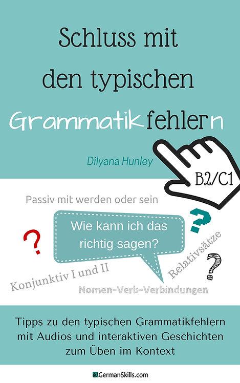 """E-Book """"Schluss mit den typischen Grammatikfehlern auf B2/C1"""""""