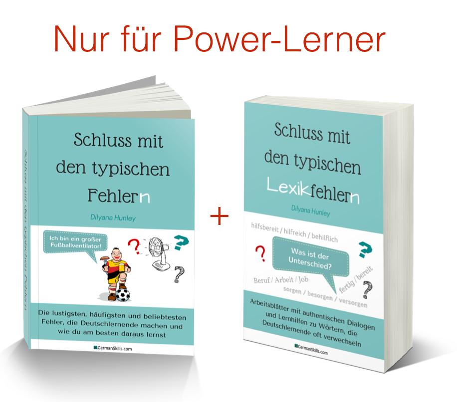 Typische Fehler beim Deutschlernen