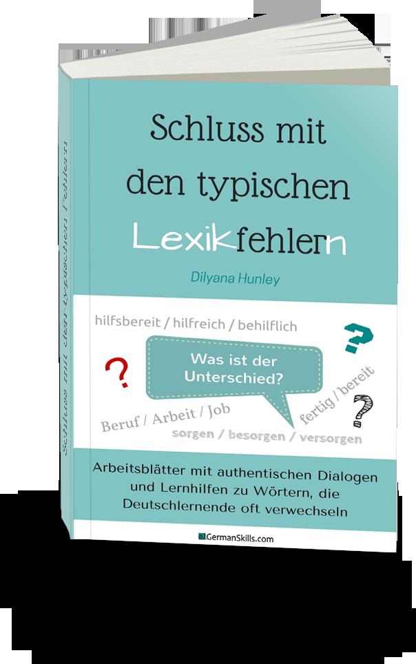 """PDF """"Schluss mit den typischen Lexikfehlern"""""""
