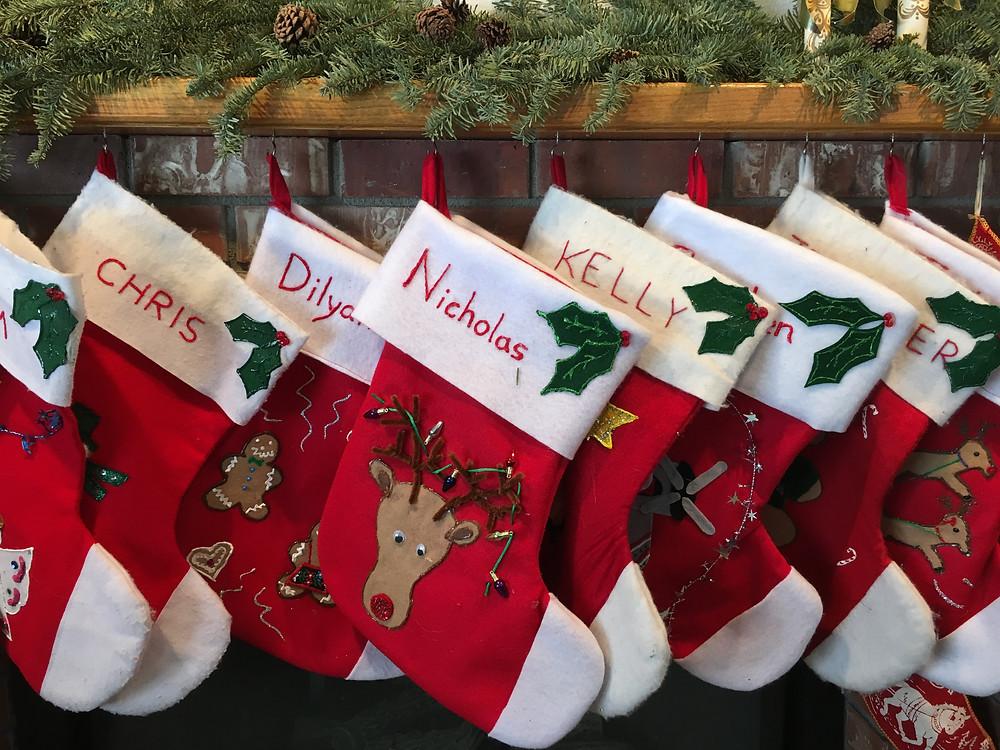 Christmas Stockings - Nicholas