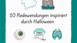 10 Redewendungen inspiriert durch Halloween