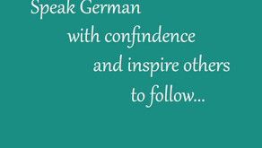 Speak with Confidence:  How to Stop Feeling Embarrassed about Your German