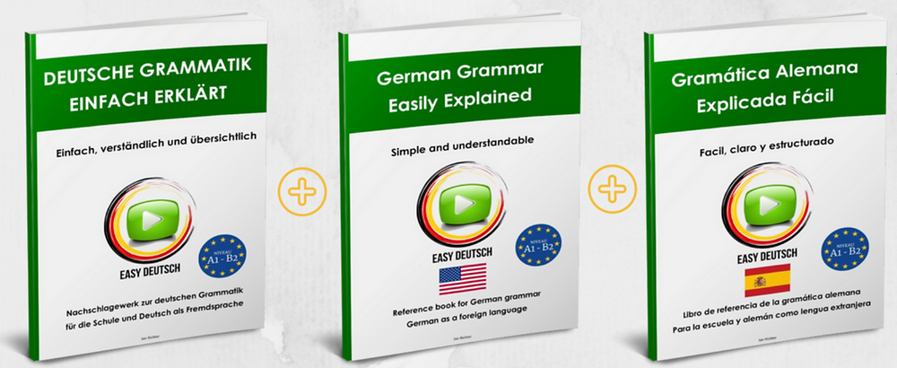 Deutsche Grammatik einfach erklärt - E-Book