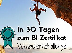 In 30 Tagen zum B1 Zertifikat-GermanSKil