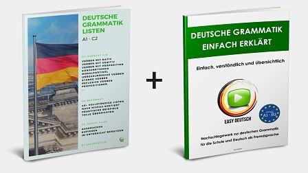 Listen + Grammatikbuch
