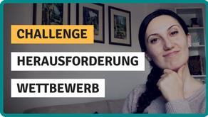 Challenge, Herausforderung, Wettbewerb - was ist der Unterschied?