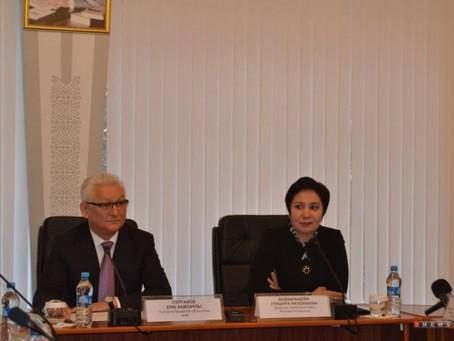 Гос.Секретарь Казахстана и аким области втретились с участниками программы «Серпiн - 2050»