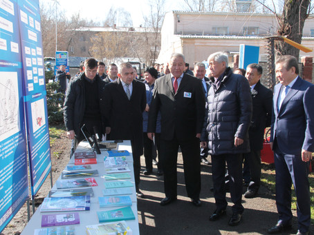 КазНАУ с рабочим визитом посетил Аким Алматинской области Амандык Баталов