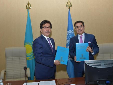 КазНУ и Альянс Цивилизаций ООН (UNAOC) подписали меморандум о сотрудничестве