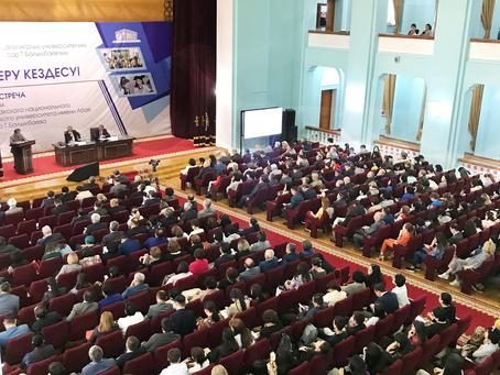 Ректор КазНПУ Такир Балыкбаев сообщил об основных достижениях вуза за прошедший учебный год