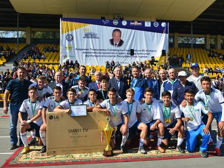 Завершился республиканский турнир по футболу среди университетов