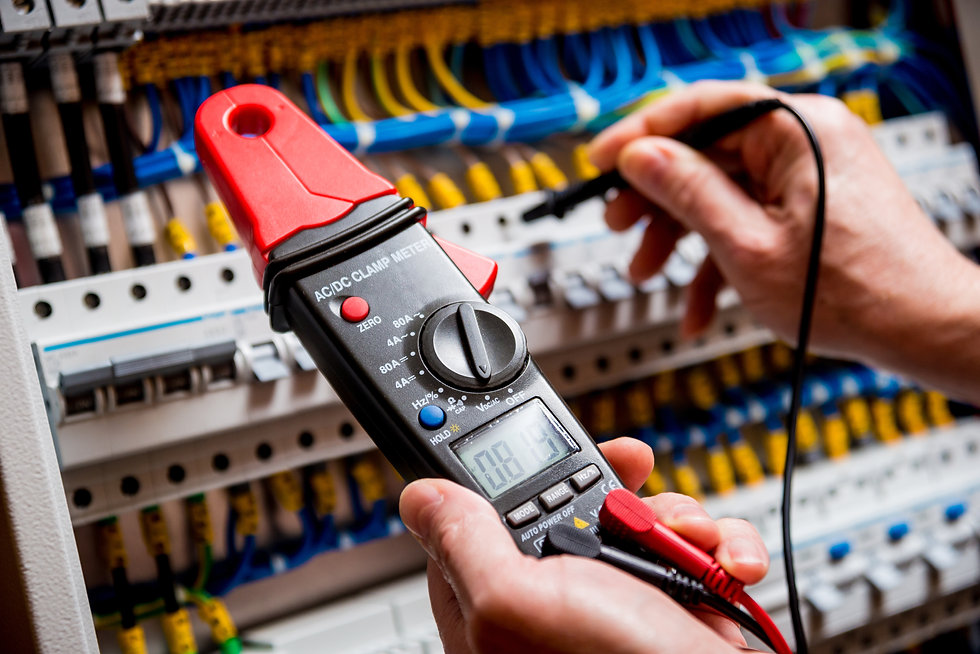 Electrical measurements with multimeter