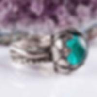 Кольцо из пластичного серебра (серебряной глины)